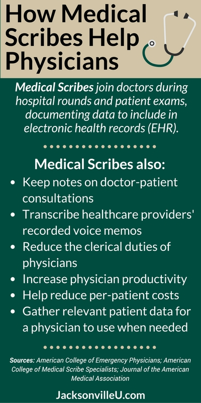 What Does a Medical Scribe Do? | Physician's Scribe