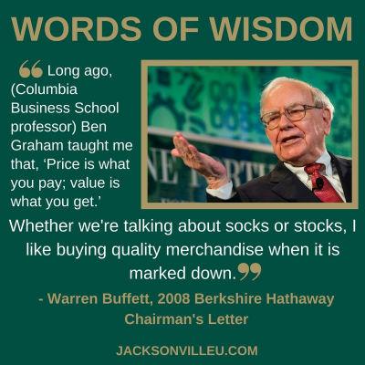 Warren Buffett speaks about value investing.