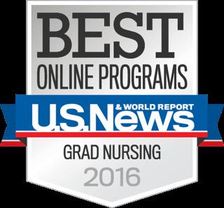 US News Best Online Grad Nursing logo